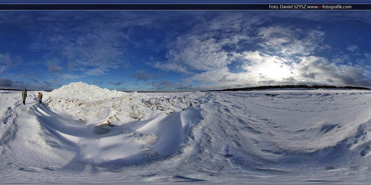 Świnoujście - Zima - Plaża