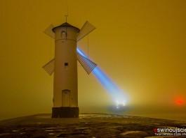 Świnoujście - Wiatrak mgła