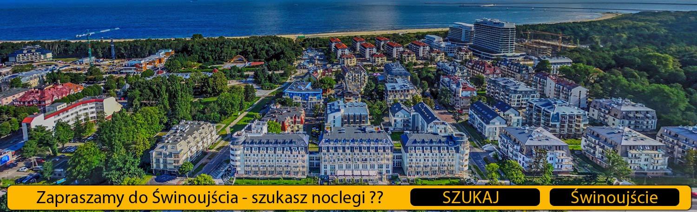 Nocleg w Świnoujściu - Hotel - Pensjonat - Apartamenty nad morzem