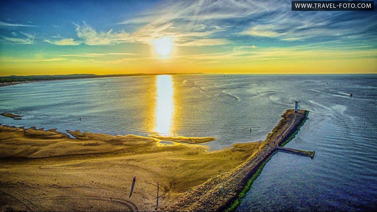 Świnoujście Wiatrak nad Bałtykiem