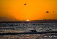 Świnoujście - Plaża - Wschód słońca