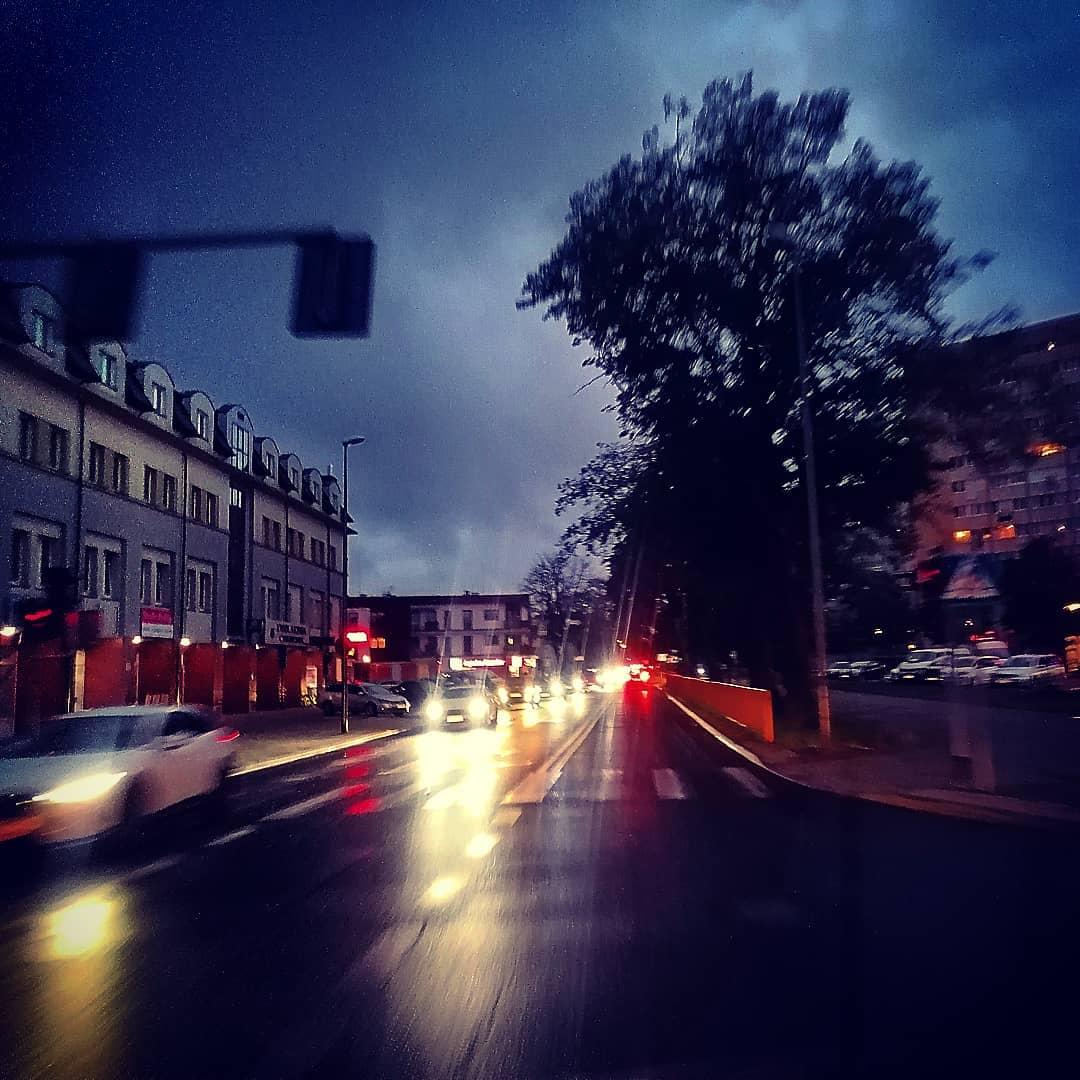 świnoujście nocą
