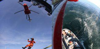 Świnoujście - Śmigłowiec ruszył na ratunek - Marynarka Wojenna