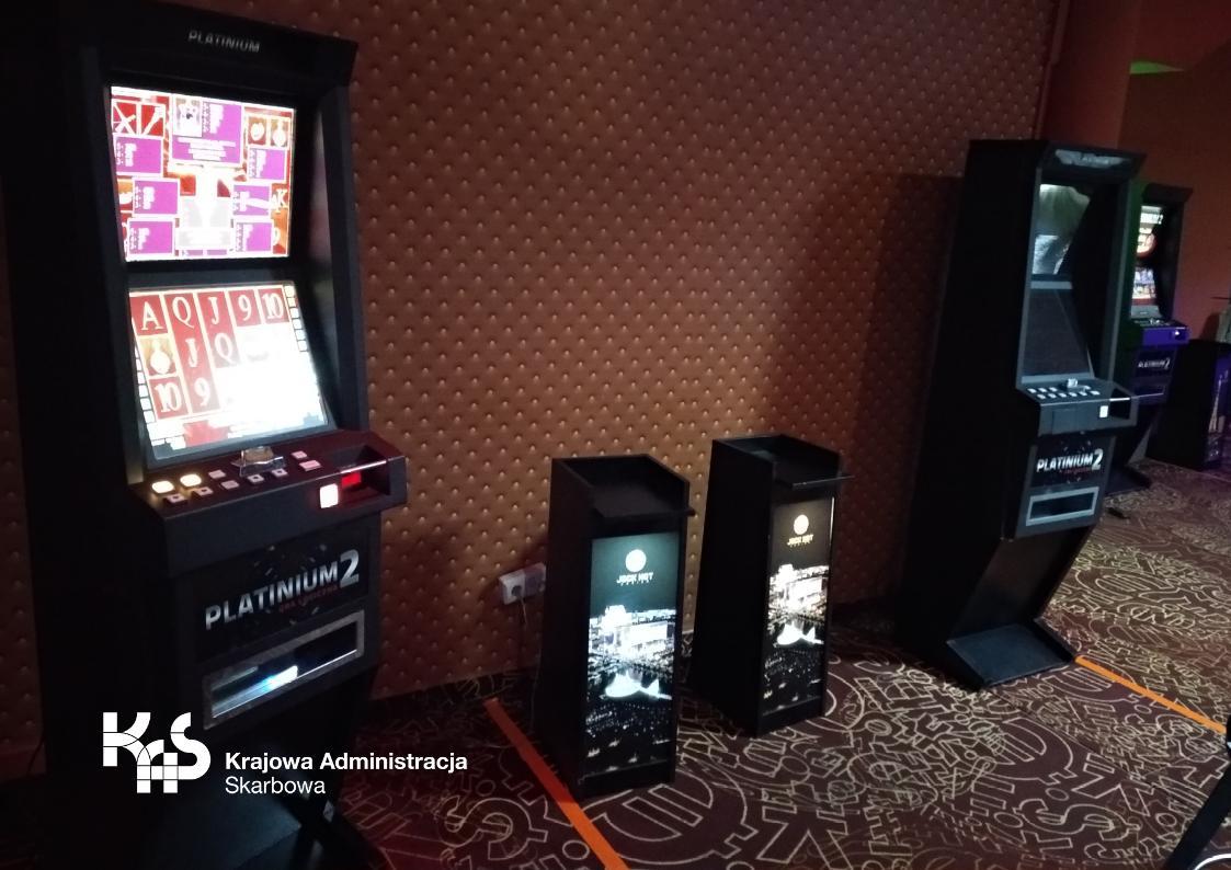 Nielegalny salon hazardu