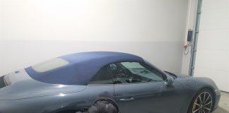 Trzyletnie Porsche Carrera o wartości 400 tys. zł ujawnili funkcjonariusze Straży Granicznej