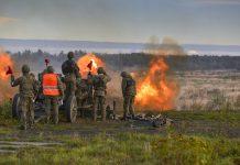 Świnoujście - Zakończenie szkolenia poligonowego przeciwlotników MW