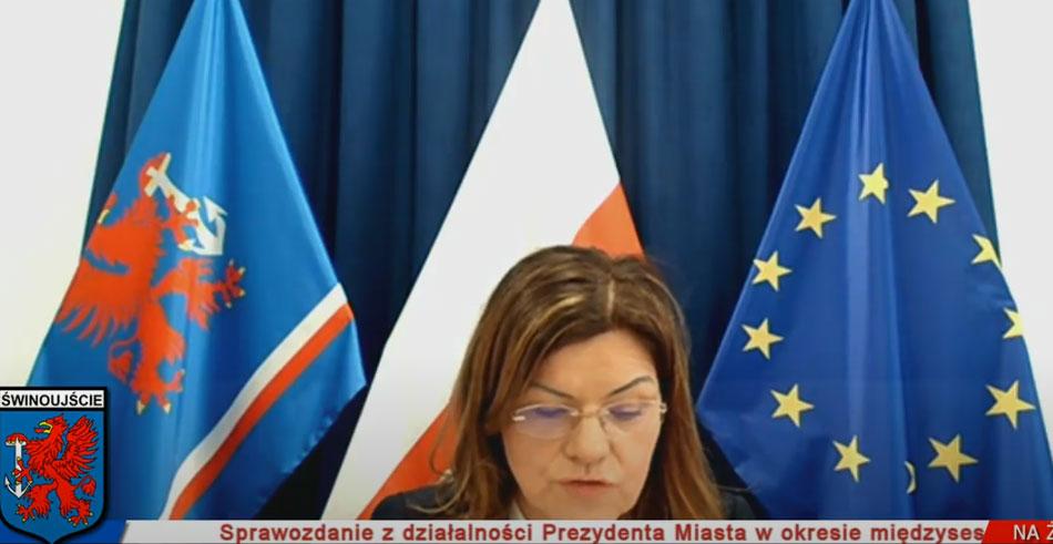 Radna Jabłońska PO - Chaos na Sesji Rady Miasta Świnoujście
