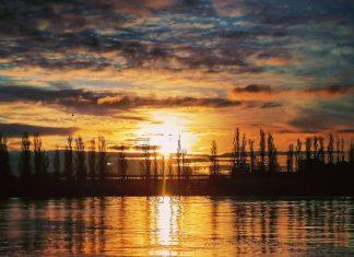 Świnoujście - Wschód słońca - Dzień dobry