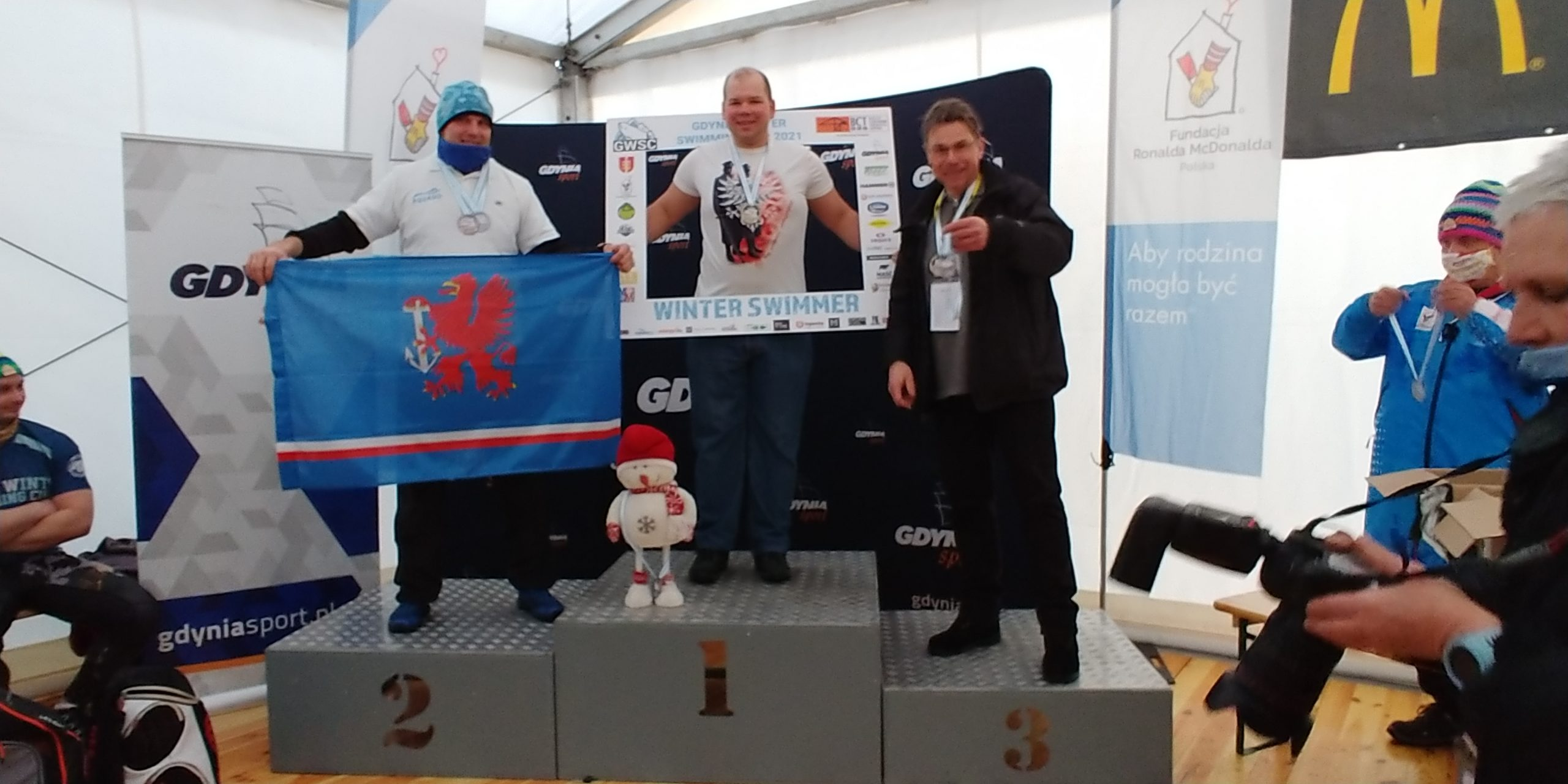 5 medali Michała w Gdynia Winter Swimming Cup 2021