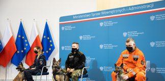 Dożywotnia opieka nad zwierzętami w służbach podległych MSWiA