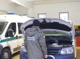 Skradziony w Niemczech samochód marki Volkswagen Transporter odzyskali 18 lutego funkcjonariusze z Placówki Straży Granicznej