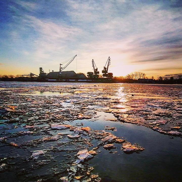 Świnoujście - Zimowy poranek - Luty 2021