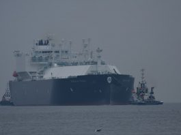 116 dostawa gazu do Terminalu LNG im. Prezydenta Lecha Kaczyńskiego w Świnoujściu