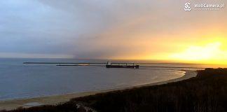 Świnoujście - Takie wschody słońca tylko w Świnoujściu - zobacz obraz z kamer na żywo