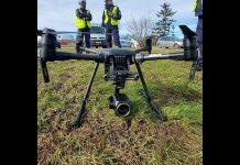 Uwaga kierowcy - Policyjny dron w akcji - Video
