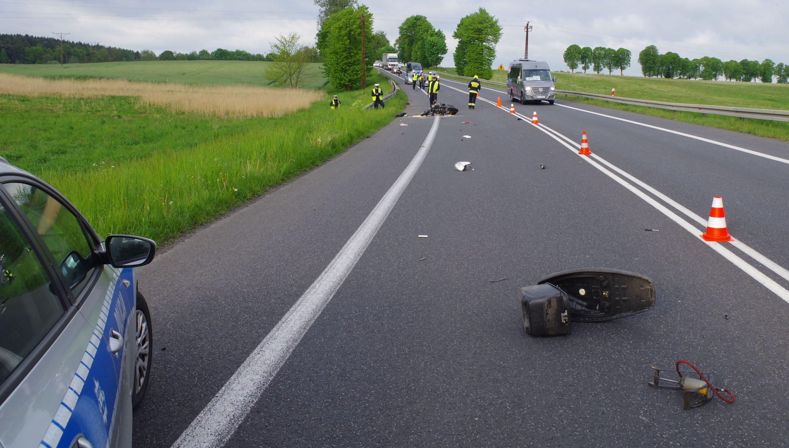 Policja - Nietrzeźwa kierująca spowodowała wypadek ze skutkiem śmiertelnym