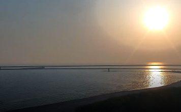 Świnoujście - Wschód słońca - maj - godzina 0530