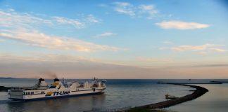 Świnoujście - Wejście do portu