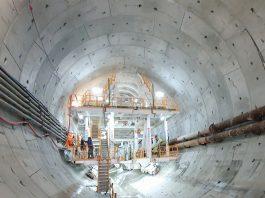 Świnoujście - Tunel ma już prawie 700 metrów