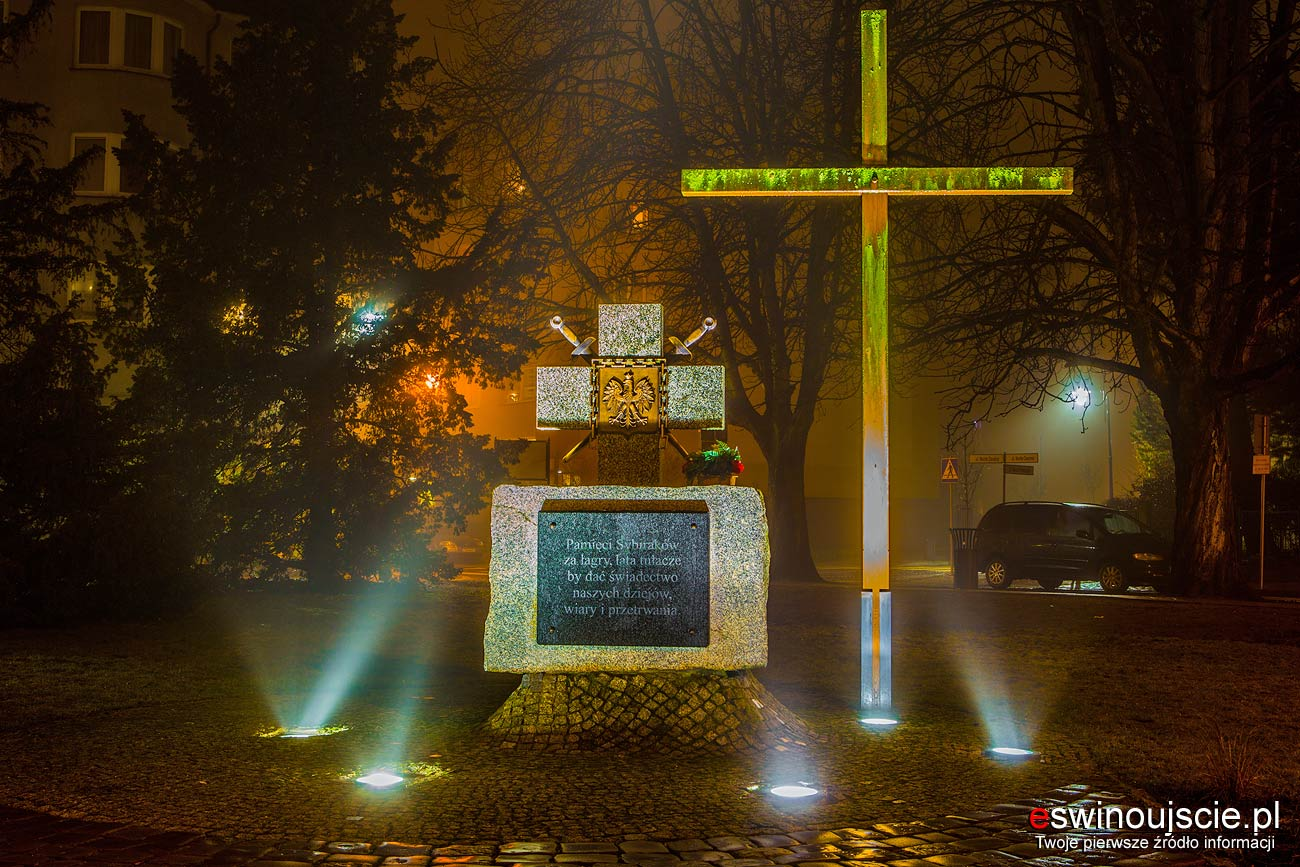Świnoujście - Pomnik Zesłańców Sybiru – Skwer Zesłańców Sybiru