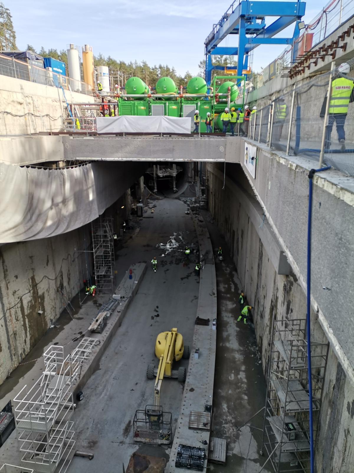 Świnoujście - Zobacz co wydarzyło się na budowie tunelu pod Świną