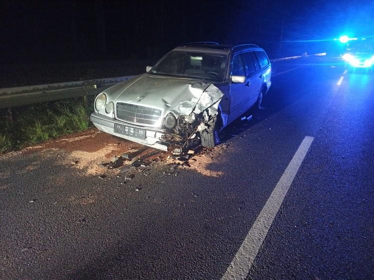 Policja - Kierowcy z promilami sprawcami wypadków